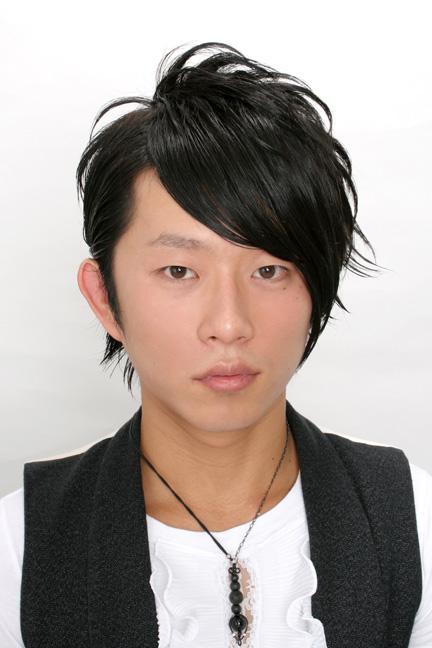 【印刷用】アシンメトリー 髪型 ヘアスタイルのカタログ S Kirei 男子の髪型☆男のかっこいいヘアー